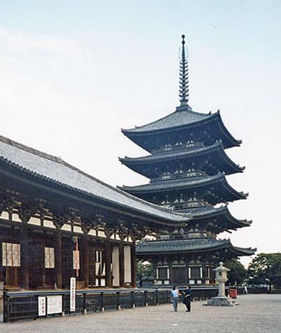 K�fuku-ji là một ngôi chùa cổ ở trung tâm Nara