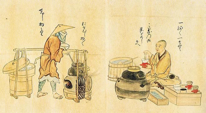 Lịch sử hình thành ẩm thực Nhật Bản