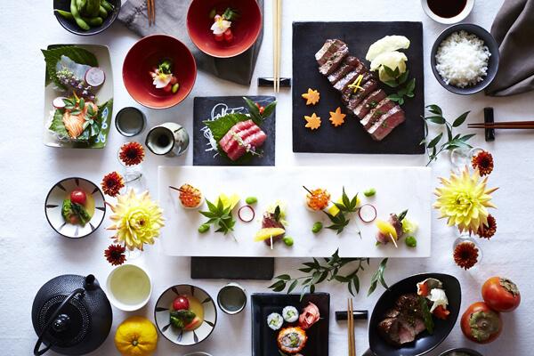 Sắp đặt bàn ăn tại Nhật Bản