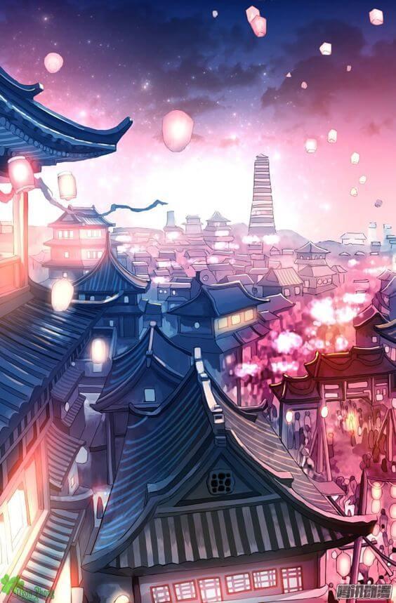 Phong cảnh Nhật Bản anime
