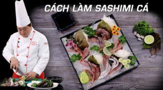 cách làm sashimi