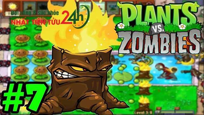 Hack không cần đợi hồi phục cây plant vs zombie