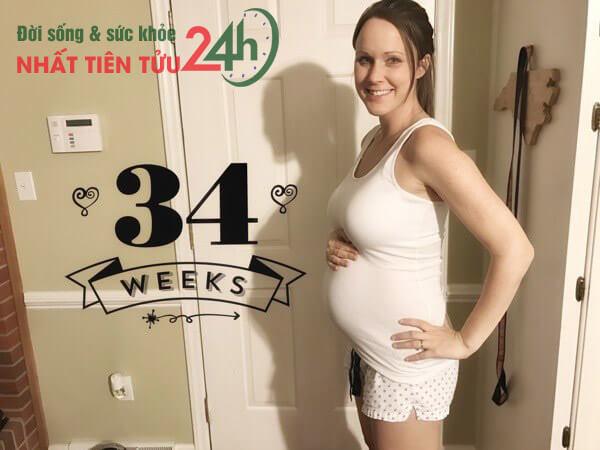 Tại sao thai 34 tuần đạp nhiều