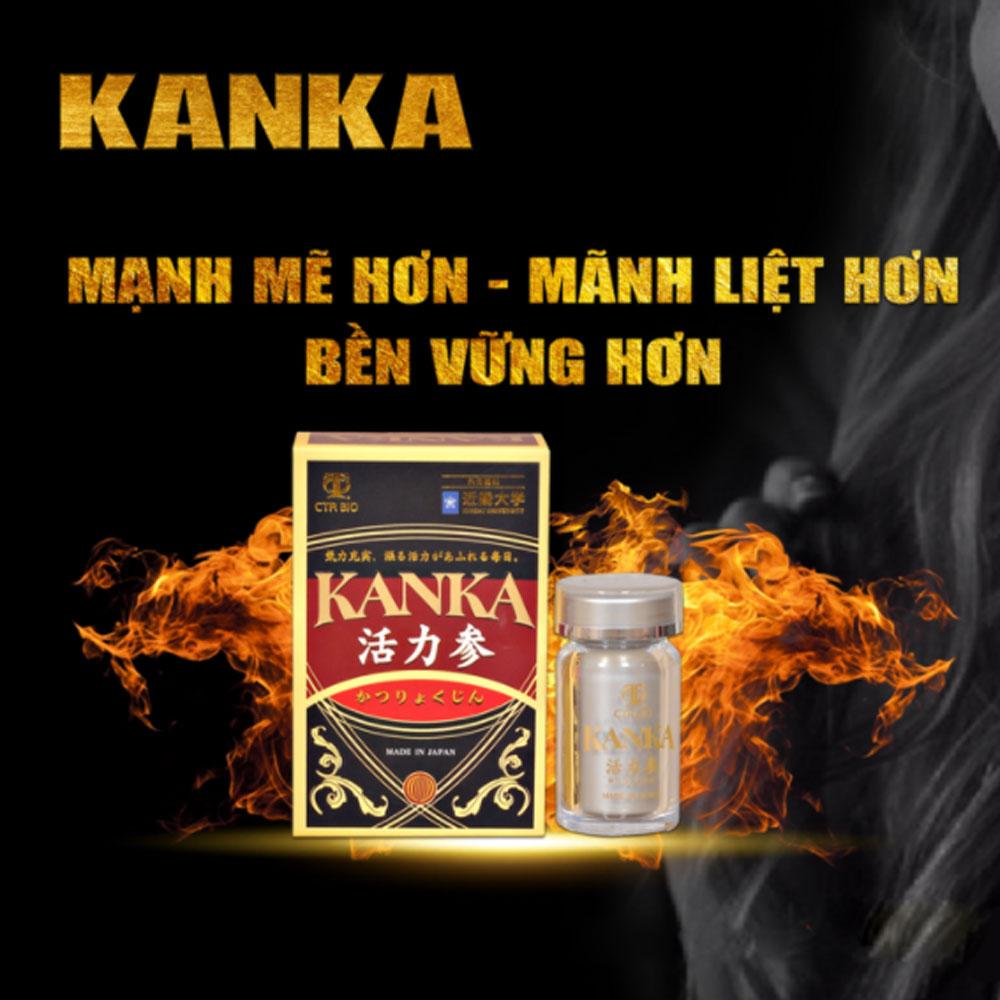 Bổ thận Kanka – Cải thiện sinh lý nam