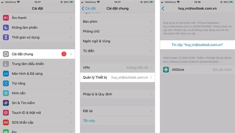 Cách cài AltStore cho iPhone để tải ứng dụng ngoài không cần Jailbreak 4