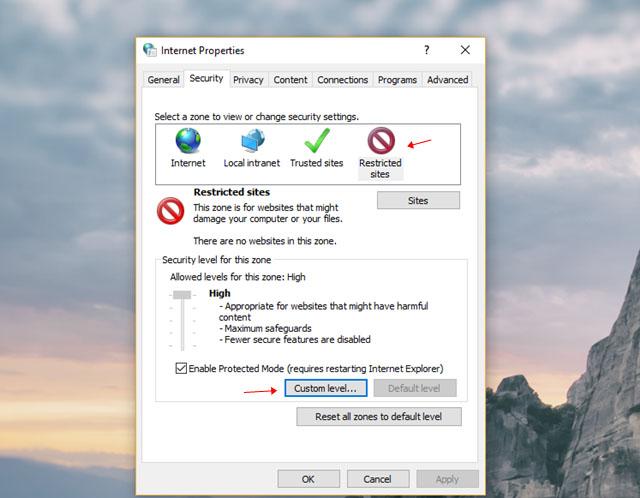 Khắc phục lỗi không thể cài đặt phần mềm trên Windows 10-8