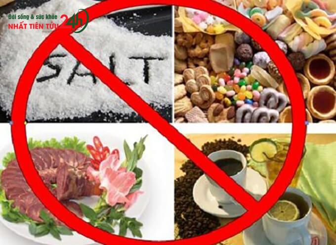 Ngư�i bị thoái hóa khớp không nên ăn gì