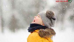 cách bảo vệ sức khỏe trẻ em trong mùa lạnh
