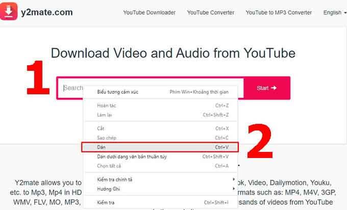 cách tải nhạc từ youtube 2