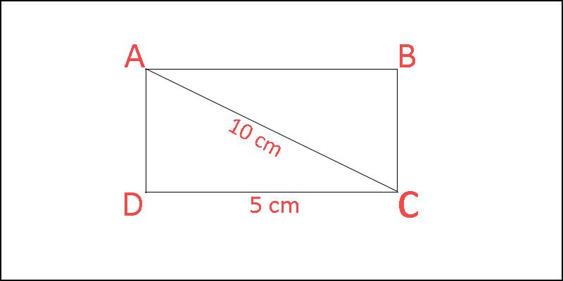 Bài tập tính diện tích hình chữ nhật