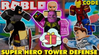 Code Superhero Tower defense