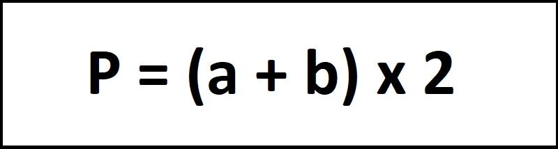 Công thức tính chu vi hình chữ nhật 1