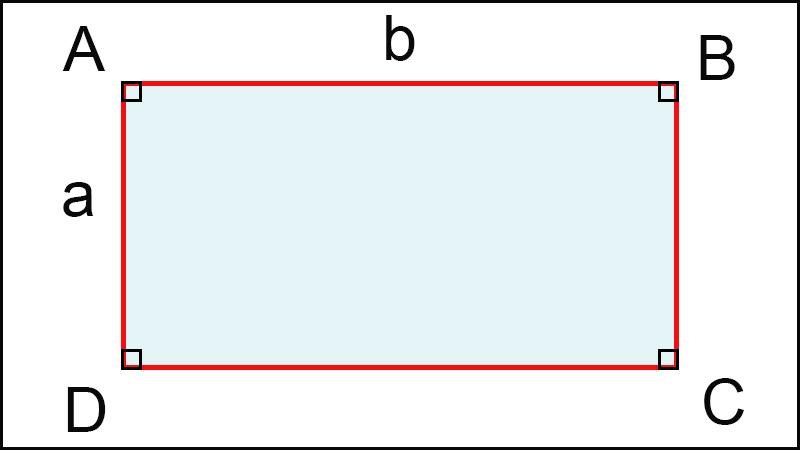 Công thức tính chu vi hình chữ nhật