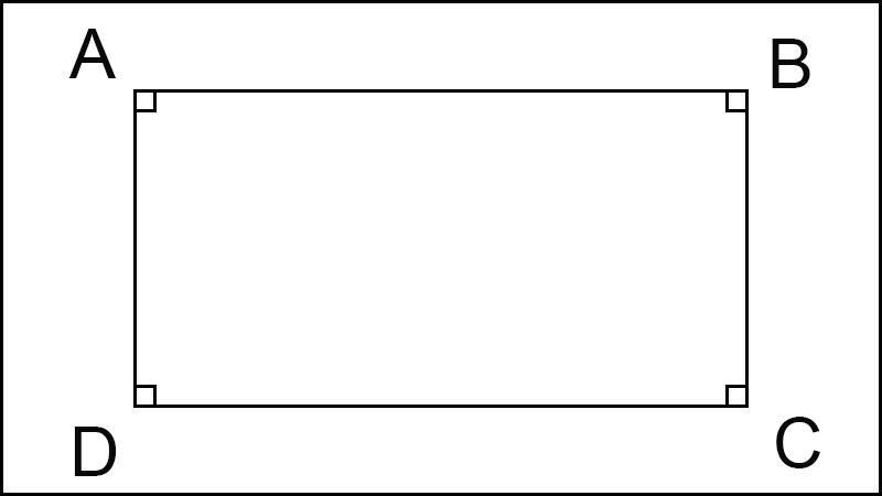 diện tích hình chữ nhật