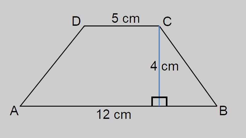 diện tích hình thang