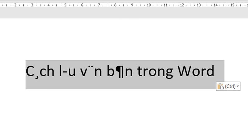 lỗi font chữ 1